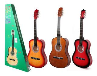 Guitarra Clasica 100cm 3 Colores