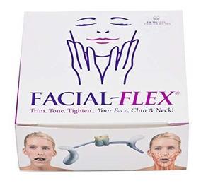 Facial Flex Fortalecimento Facial Pescoço Novo Original