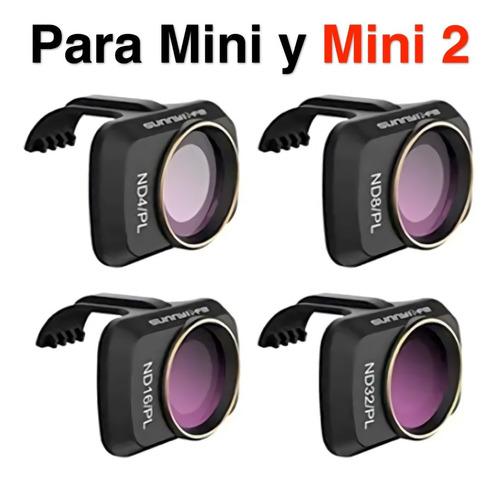 Dji Mavic Mini, Mini 2, Set De 4 Filtros Ndpl 4, 8, 16, 32