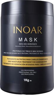 Inoar Mask Mascarilla Hidratante De Macadamia Y Trigo 1kg