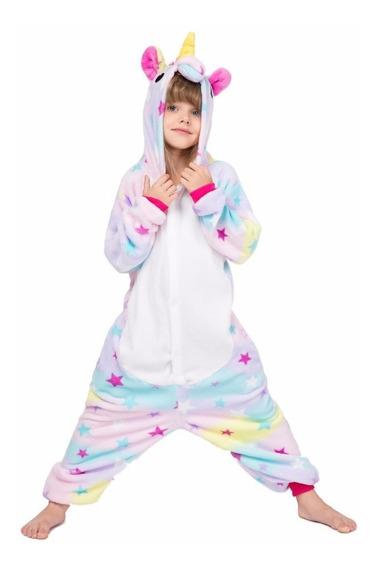 Pijama Mameluco Unicornio Infantil Estrellitas