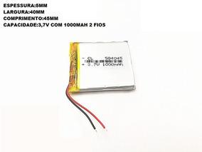Bateria 1000 Mah 3,7 Gps,baba,brinquedos,rastreador,etc