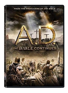 Ad The Bible Continues + The Bible Coleccion Completa - Dvd