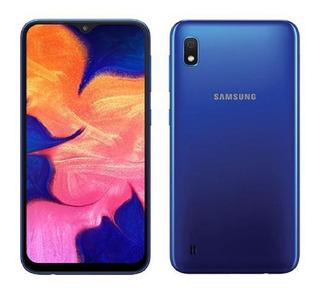 Samsung Galaxy A10 32gb Telcel Azul Nuevo Msi