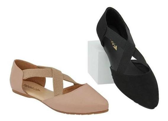 Zapatos Valerina Dama Combo Al 2x1 Mundo Terra 020540