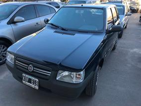 Fiat Uno Excelente Estado Color Azul 4 Puertas Kbf