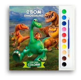 Livro Infantil Para Colorir - O Bom Dinossauro