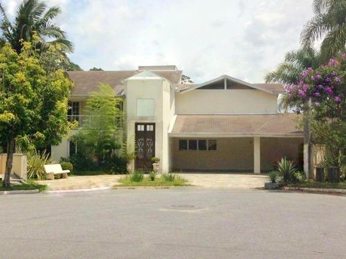 Casa Com 4 Dormitórios À Venda, 400 M² Por R$ 5.800.000,00 - São Paulo Ii - Cotia/sp - Ca0585