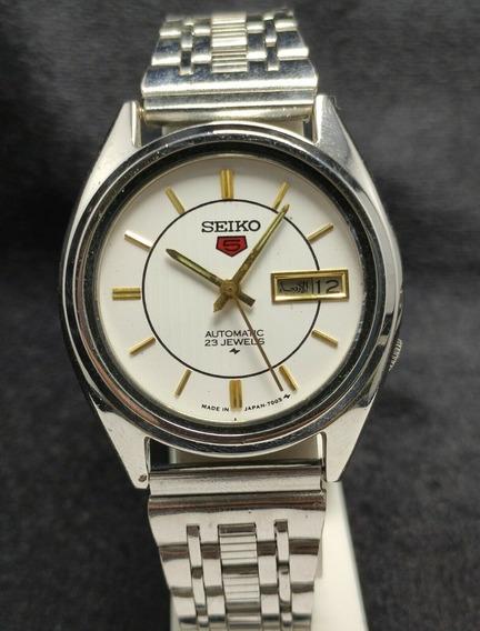 Reloj Seiko Automatico Vintage Extensible Metalico 23 Jew 63