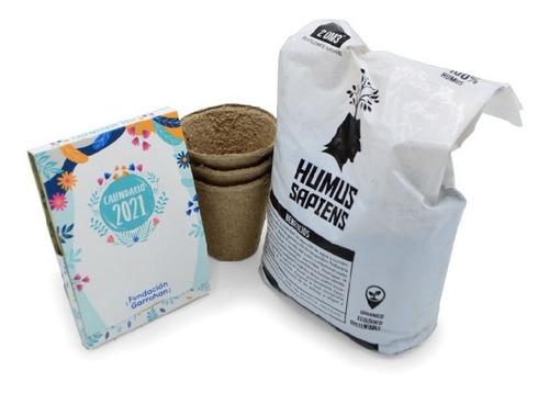 Kit Eco Calendario 2021 Plantable - Fundación Garrahan - E