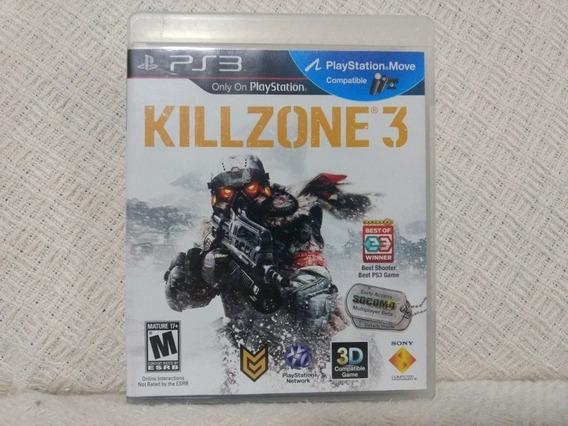 Jogo Ps3 Killzone 3 Mídia Física