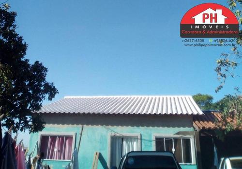 Ótima Casa Com 2 Quartos, Closet E Excelente Quintal, Natureza. - 914