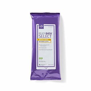 Medline Readybath Basics Antibacteriano Perfumado Washcloths