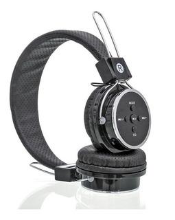 Fone De Ouvido Knup Kp-367 Bluetooth Fm Com Microsd Auxiliar