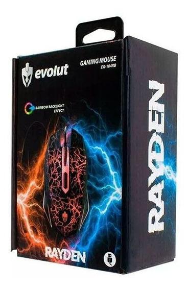 Mouse Gamer Rayden Eg-104rb Evolut