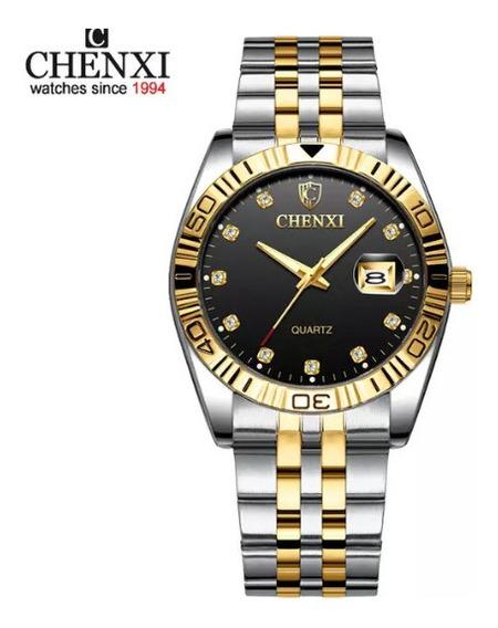 Lindo Relógio Chenxi Pulso Feminino
