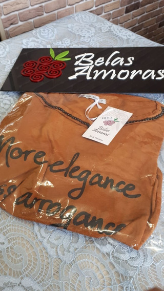 T-shirt More Elegance Less Arrogance (camiseta / Blusinha)