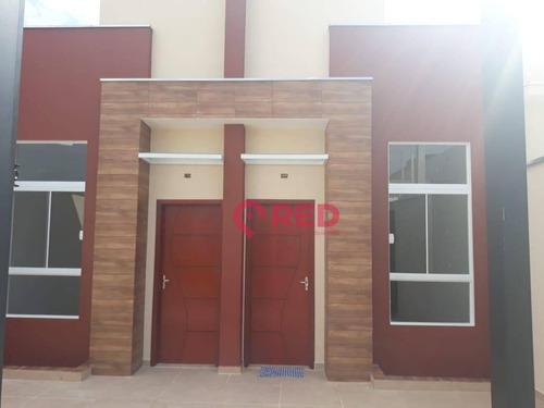 Casa Com 2 Dormitórios À Venda, 53 M² Por R$ 175.000,00 - Jardim Santa Marta - Sorocaba/sp - Ca0480