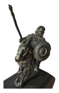Soldado Romano A Caballo Miniatura Plomo Metal 1/72 P Pintar