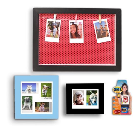 Instax Porta Retrato Kit Com 3 Peças Lançamento