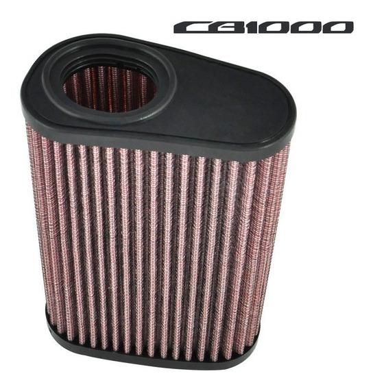 Filtro De Ar Esportivo Para Honda Cb1000 Cb1000r Lavável