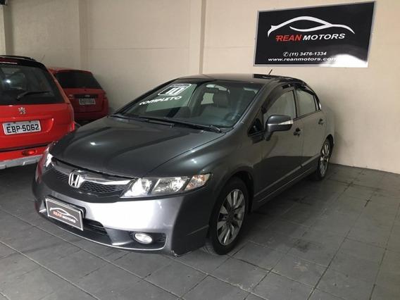 Honda Civic Lxl 1.8 Flex Automático Ano 2010