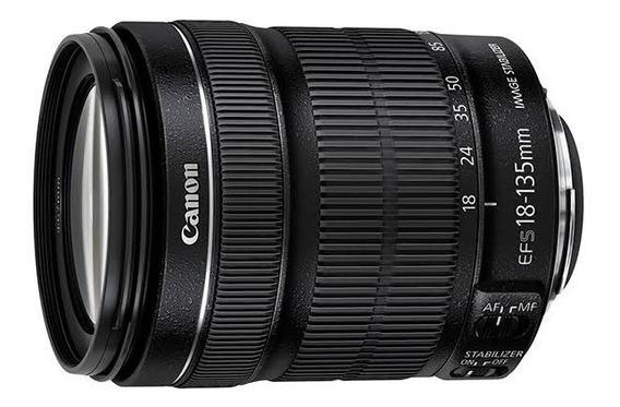 Lente Canon 18-135mm + Parasol