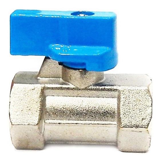 Válvula De Esfera Mini 1/8 F/f Steula Mff-1/8