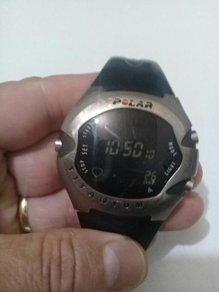 Relógio Polar Titanium M71 Ti