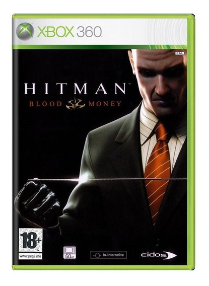 Hitman Blood Money Xbox 360 Europeu Mídia Física