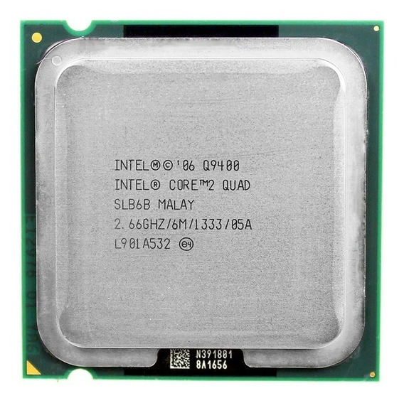 Processador Intel Core 2 Quad Q9400 Intel 2.66ghz 6mb Cache
