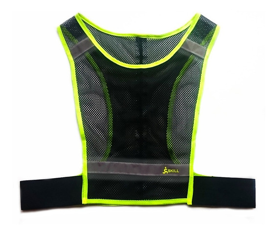 Chaleco Reflectivo Running - Cycling / Ch01 (amarillo)