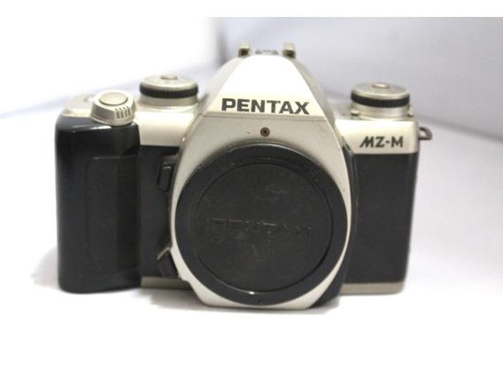 Câmera Fotografica Pentax Mz-m Coleção Retirada De Peças