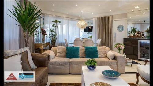 Imagem 1 de 30 de Apartamento Com 4 Dormitórios À Venda, 200 M² Por R$ 2.600.000 - Jardim Anália Franco - São Paulo/sp - Ap5573