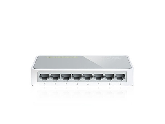 Switch 8 Port Tp-link Tl-sf1008d 10/100 200mbps