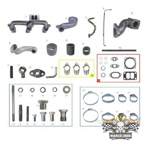 Kit Sem Turbo Toyota Bandeirantes Om 364 / Mb 709