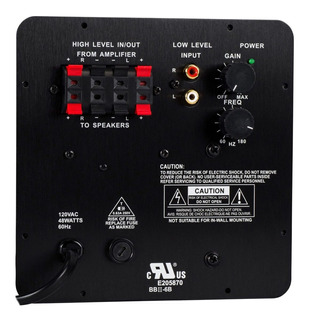 Bocinas Audio 300-782 Subwoofer Plate Amplifier, 25 Watts 8