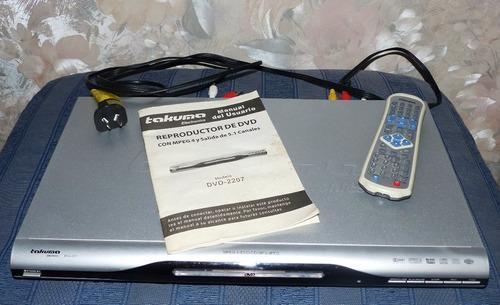 Reproductor De Dvd Takuma Electronics .repuesto