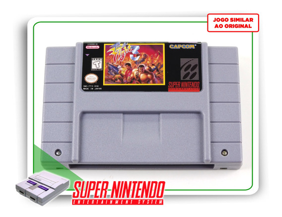 Final Fight 3 Super Nintendo Snes - Novo