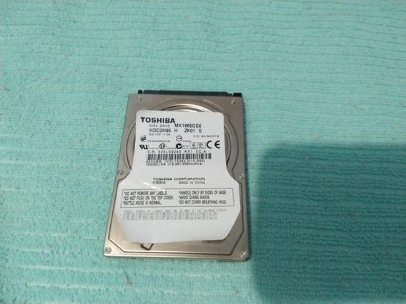 Hd Notebook - 160gb Sata Toshiba - Usado ( Com Defeito )