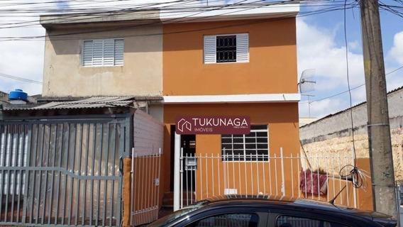Sobrado Para Alugar, 95 M² Por R$ 1.100,00/mês - Jardim Rosa De Franca - Guarulhos/sp - So0835