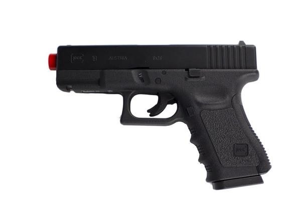 Pistola Airsoft Co2 Glock G19 Nbb Slide Metal 6mm