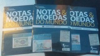 Kit De Notas E Moedas Do Mundo