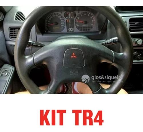 Imagem 1 de 3 de Kit De Adesivos Com Relevo Para Tr4 2002 Até 2008