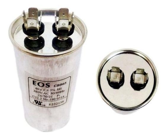 Capacitor Fase 40mfd E Capacitor Fase 08 380vac Separado