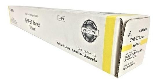 Toner Gpr-53 Canon Original Black, Yellow E Magenta