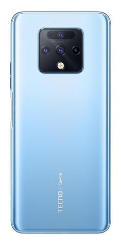 Tecno Camon 16 Premier Dual SIM 128 GB plata glacial 8 GB RAM