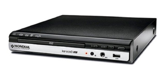 Dvd Player Mondial Mp3 Usb Karaokê 4860-01