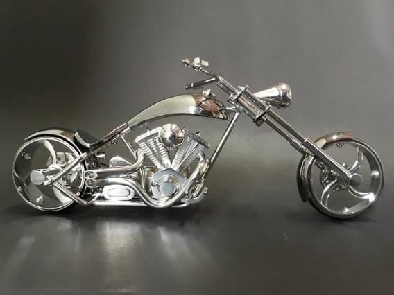Miniatura Moto - Feito A Mão - Chopper - Freestyle - Bobber