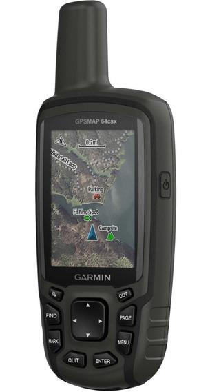 Gps Portátil Garmin Map 64csx Mapas Rodo/topo 010-02258-24